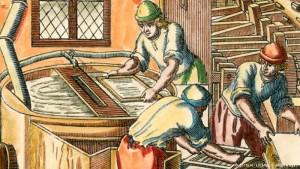 Как создавали бумагу для конституции Германии?